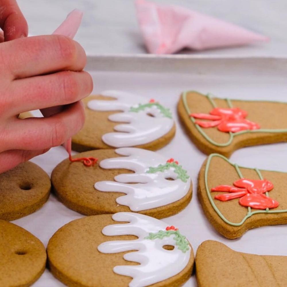 biscoitos de gengibre natalinos