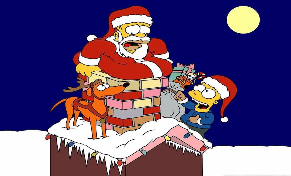 homer simpson bart chamine natal