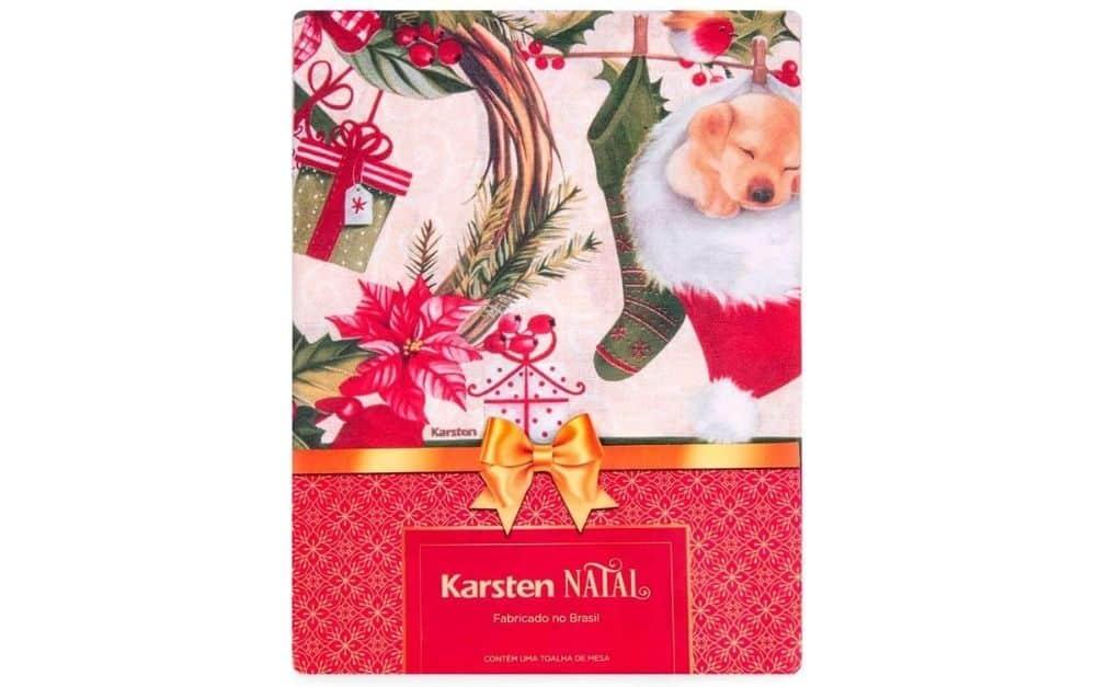 toalha de mesa natalina